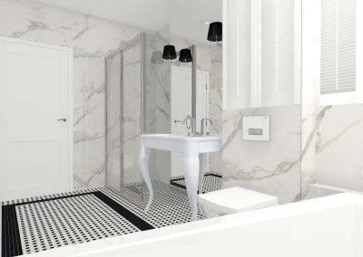 Łazienka w stylu nowojorskim