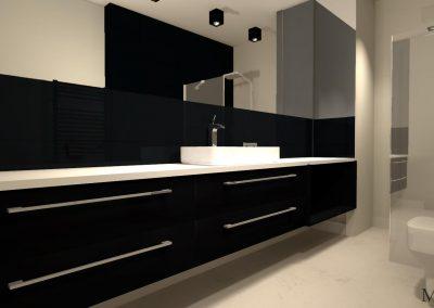 Meble w łazience w projekcie wnętrza